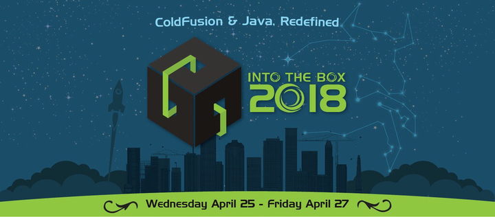 Logo Banner - Into the Box 2018 - Coldfusion and Java redefined